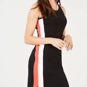 Bar III Varsity-Stripe Sheath Dress